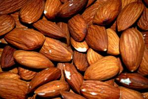 Almonds are a very good addition to any high  fiber diet and they are a very health food.