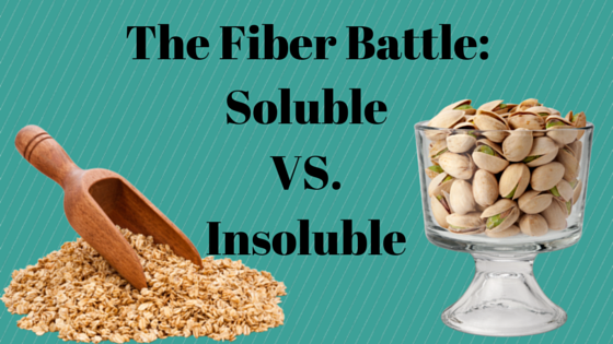 The Fiber Battle: Soluble VS. Insoluble