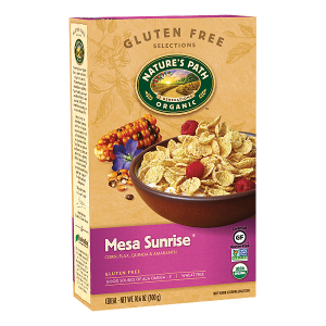 Nature's Path High Fiber Gluten Free Cereal