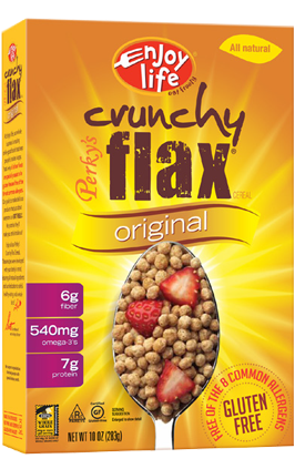 cereal_flax_original High Fiber Gluten Free Cereal
