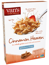Vans High Fiber Gluten Free Cereal