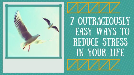 7 Outrageously Easy Ways to Reduce Stress In Your Life