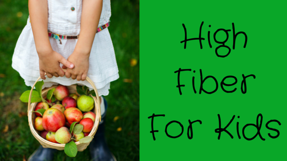 Fiber Focus Friday: Fiber For Kids