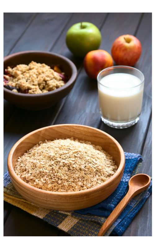 Have Oatmeal for Breakfast to start your day out great!