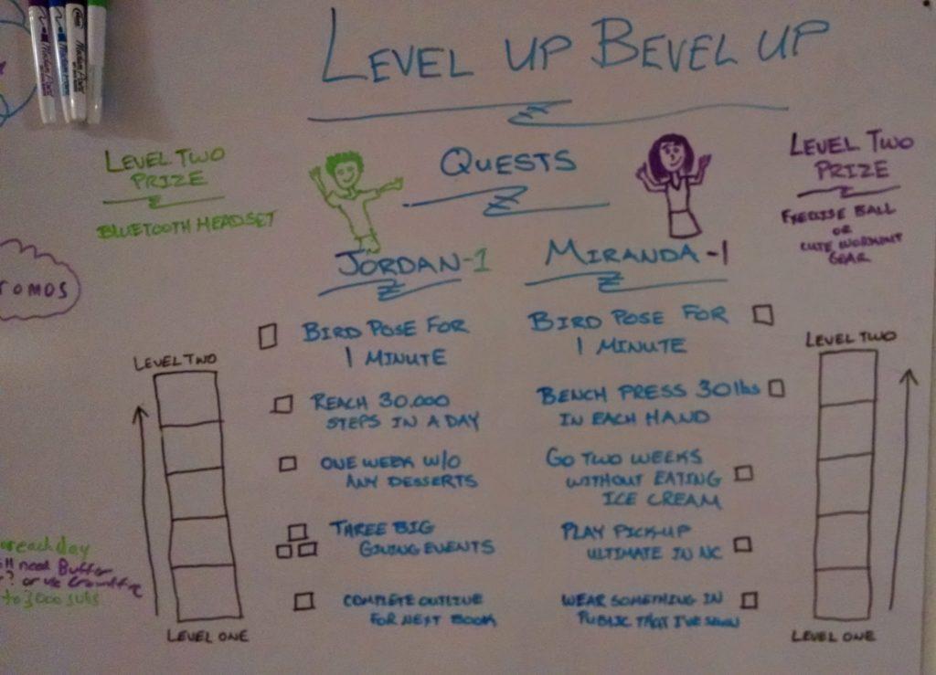 level up-min